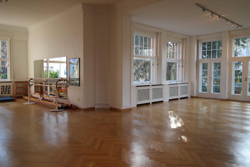Ballettsaal der Ballettschule Nina Haber